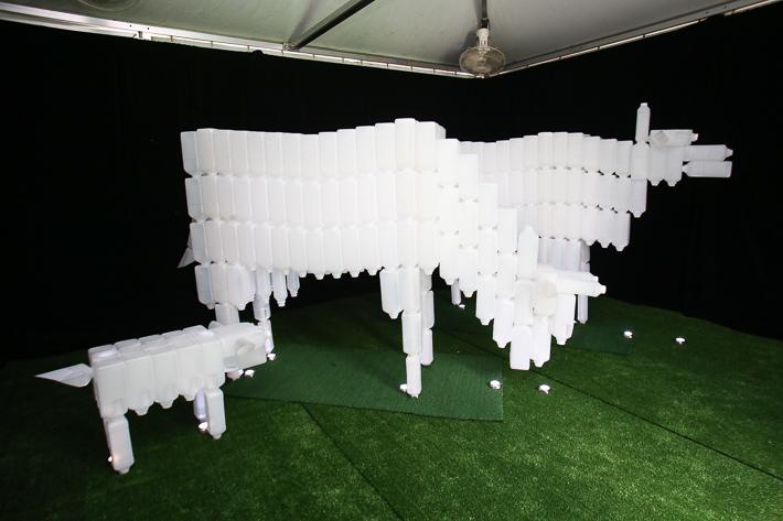 i Light Milk Bottle Cows