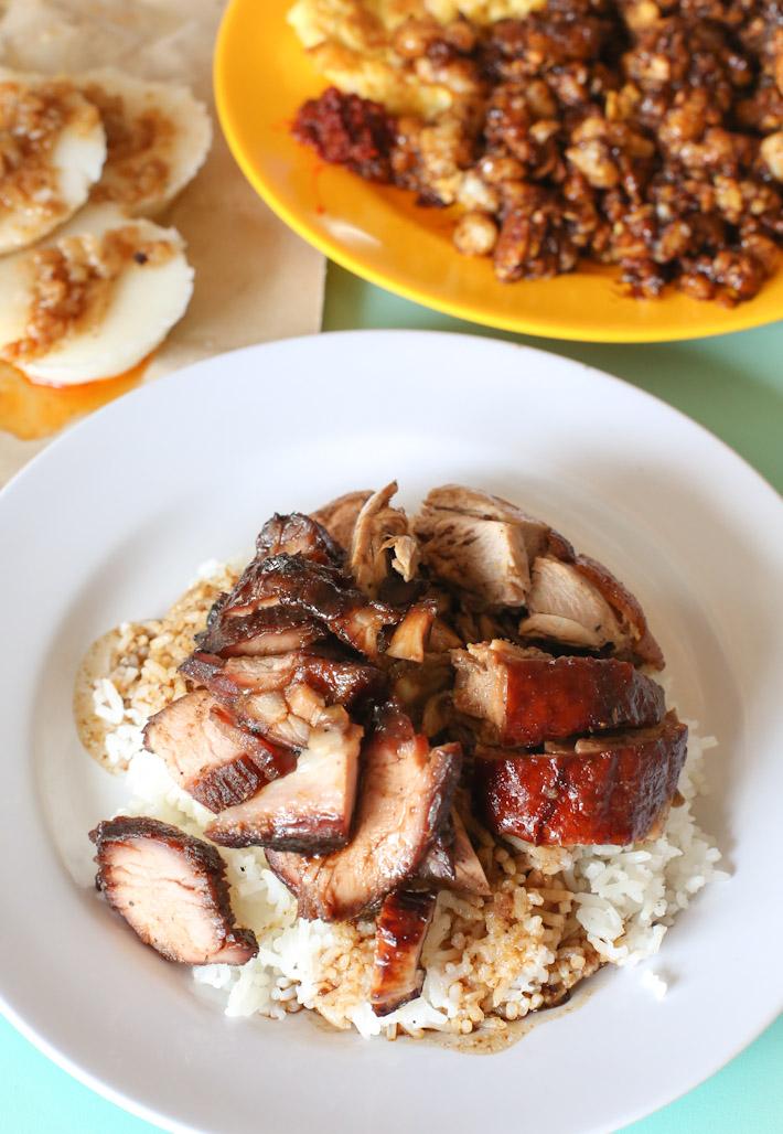 Jiu Jiang Shao La Food
