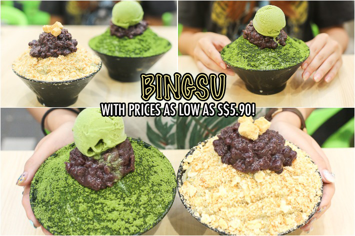 Gangnam Bingsu Collage
