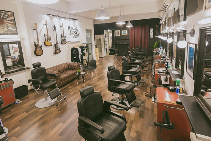 The Golden Rule Barber Co