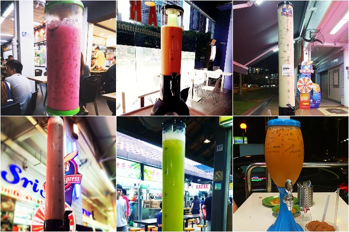 7 Drink Towers Collage
