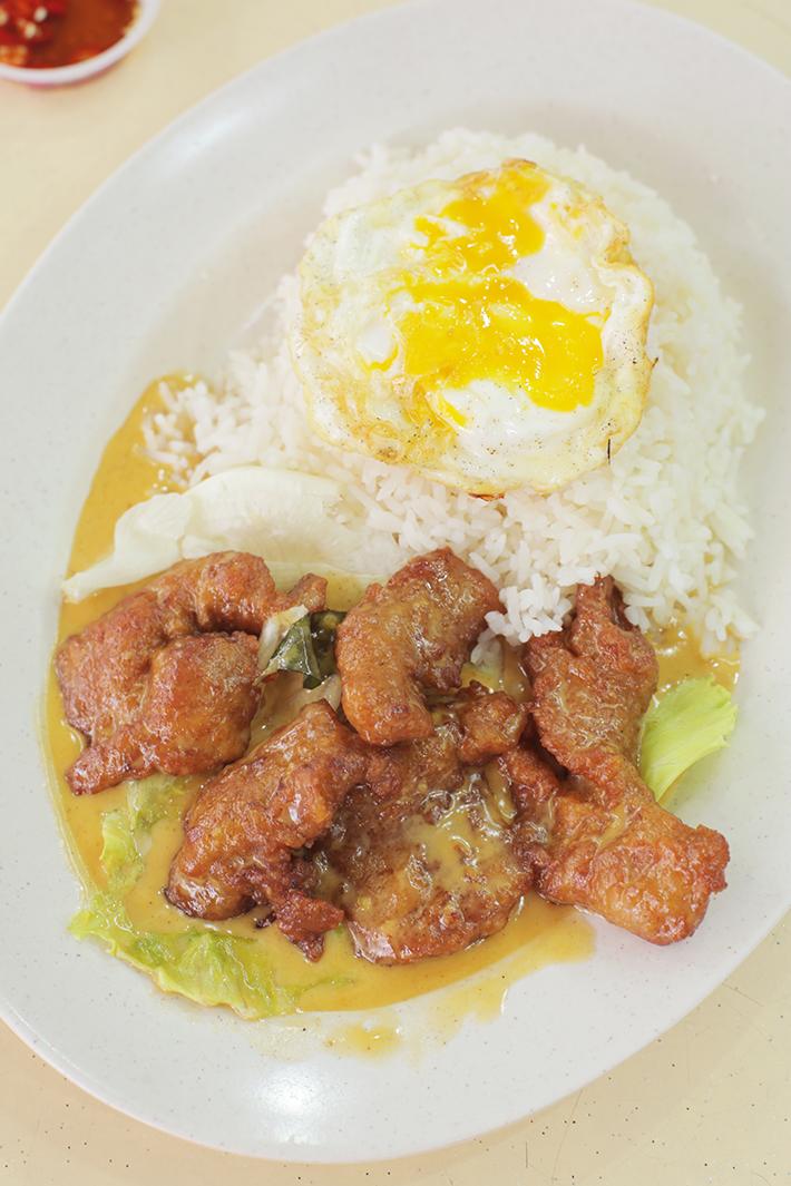 Yong Tai Seafood Salted Egg Pork Rib