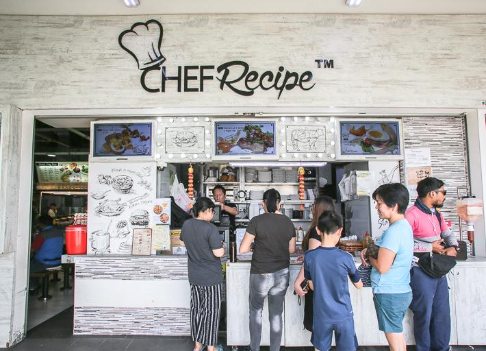 Chef Recipe Exterior