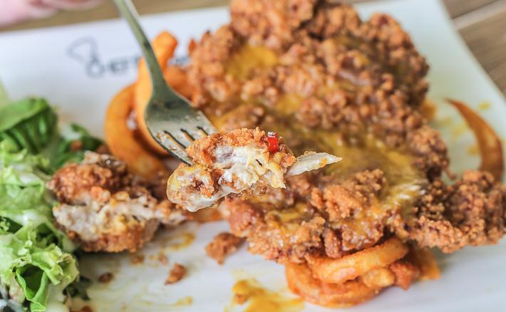 Chef Recipe Salted Egg Yolk Chicken
