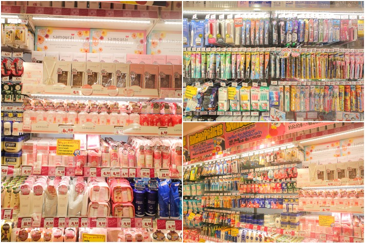 Don Don Donki Cosmetics Collage
