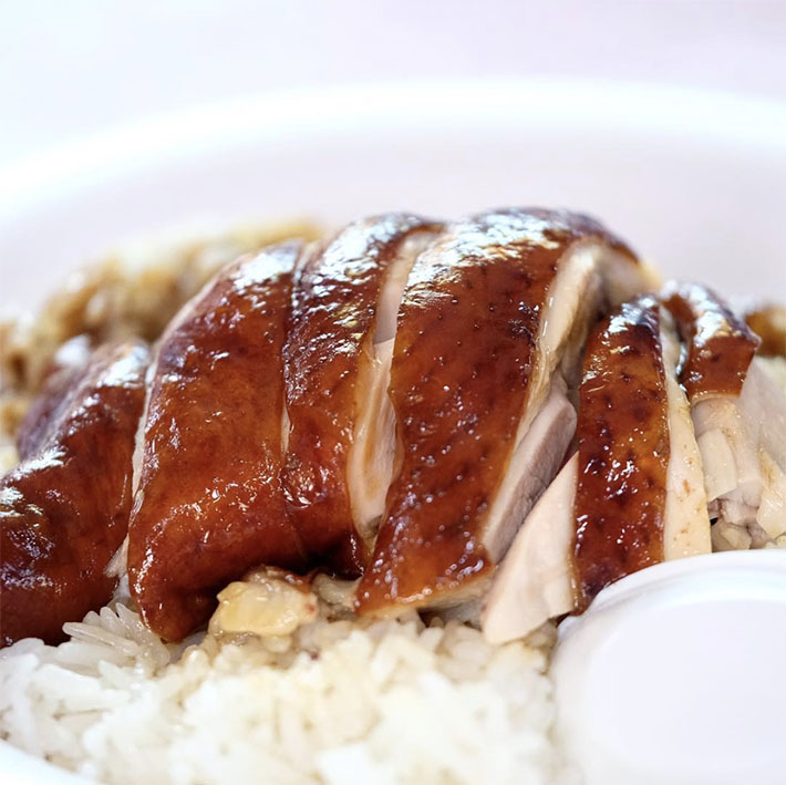 Hong Kong Soya Sauce Chicken Rice & Noodle