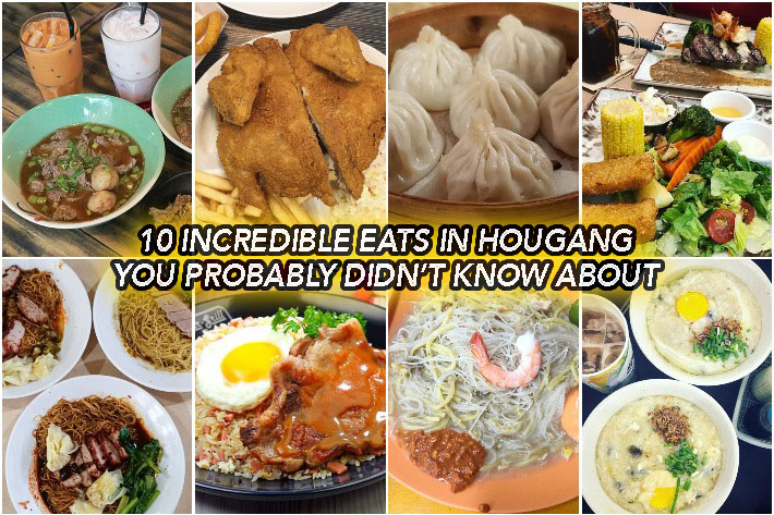 Hougang Food Guide Collage