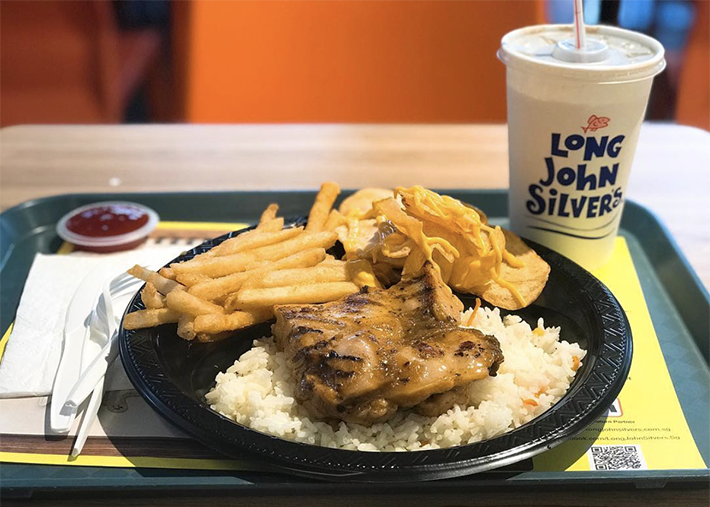 Long John Silver's Cajun Chicken