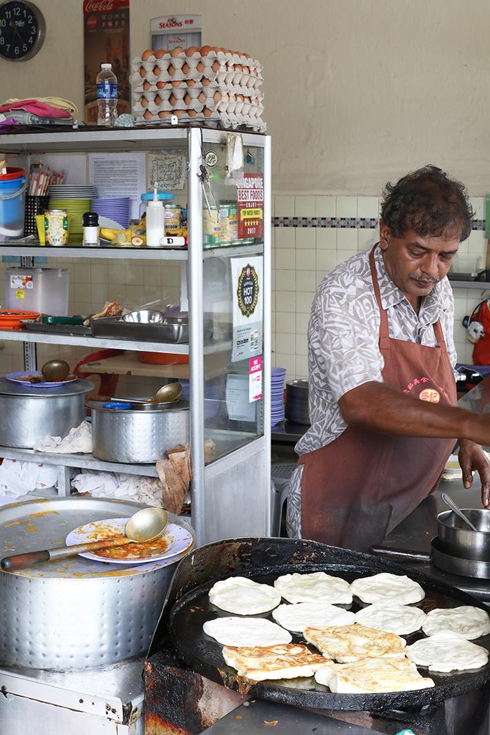 Mr and Mrs Mohgan Roti Prata