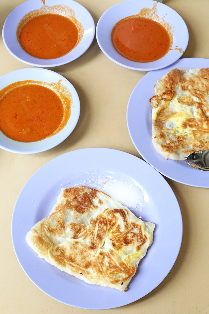Mr and Mrs Mohgan Roti Prata Crispy Prata