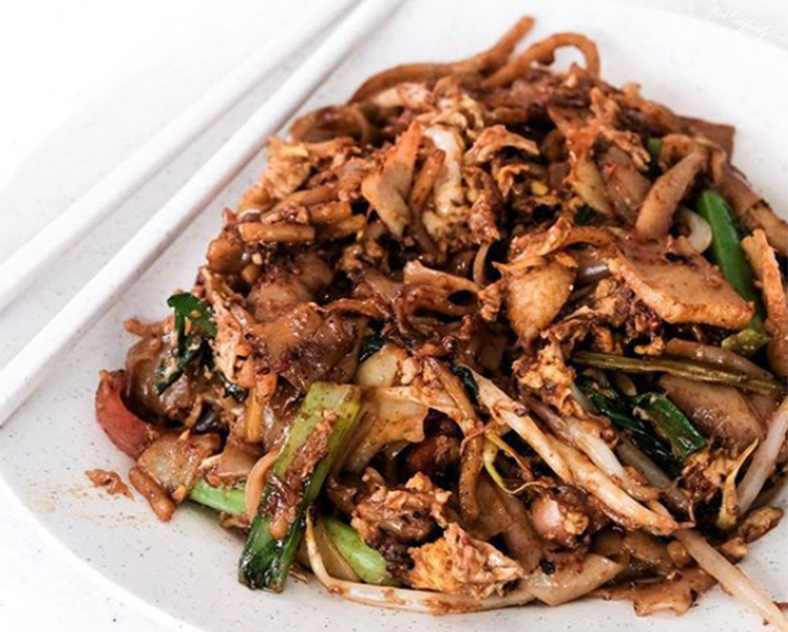 Fried Kway Teow Fried Oyster Char Kway Teow