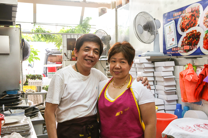 Hock Kee Fried Oyster Owner