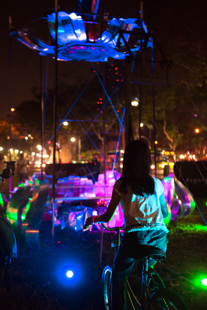 Singapore Night Festival Ember Rain