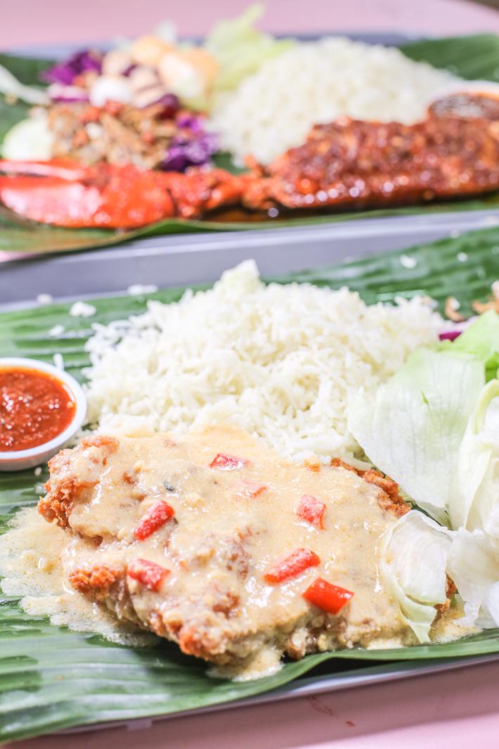Adimann Chicken Cutlet Nasi Lemak