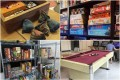 Board Games Cafes Collage