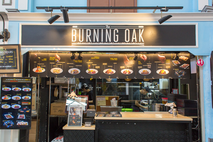 The Burning Oak Exterior