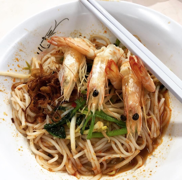khoon kee tasty prawn mee