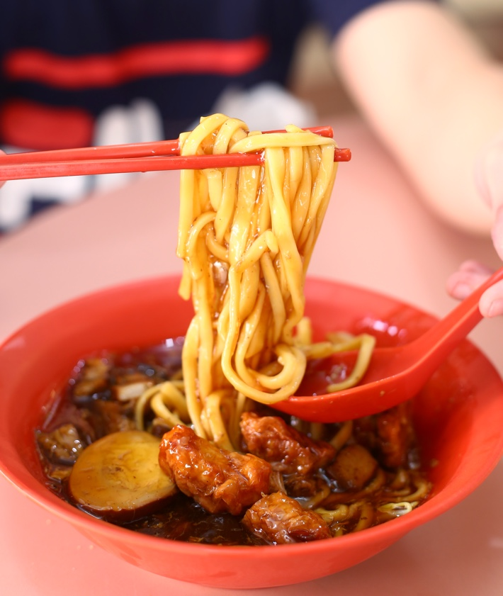 Guang Tai Lor Mee Noodle Pull