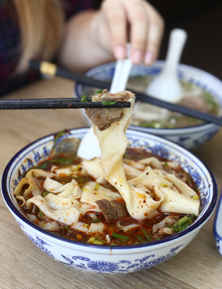 Tongue Tip Mala Spicy Noodles Pull