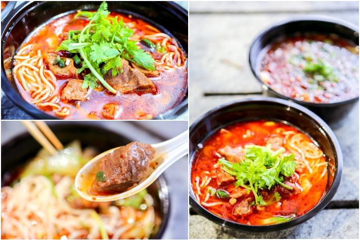 XYCD Sichuan Braised Beef Brisket Noodle