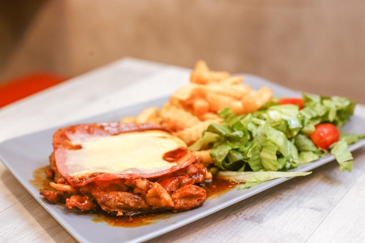 XinXin Ham Cheese Chicken Chop