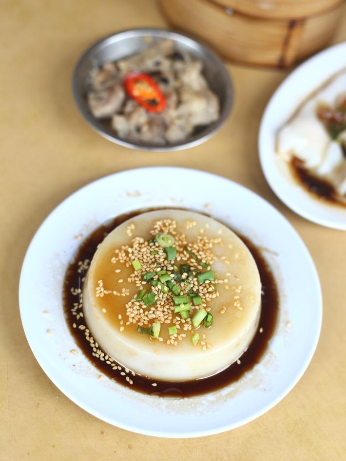 Yi Dian Xin Steamed Carrot Cake