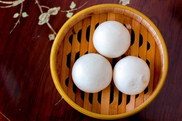 Zi Yean Salted Yolk Custard Bun