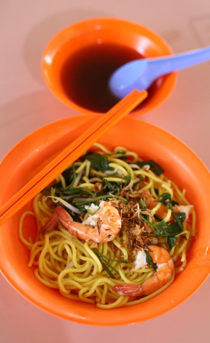 famous seng heng family restaurantt prawn mee