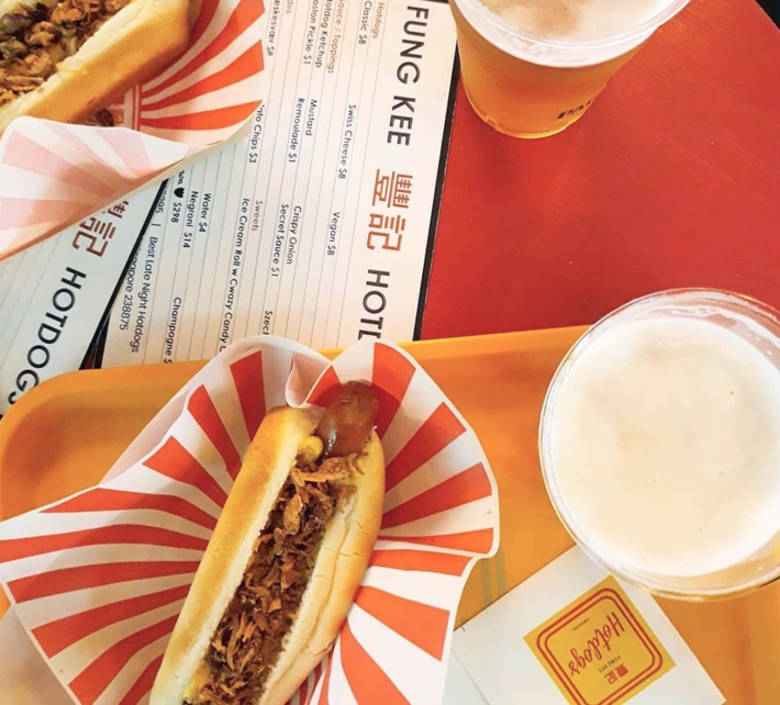 fung kee hot dogs