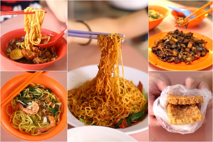 YUHUA MARKET COLLAGE