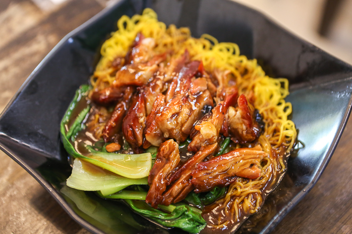 Wong Chiew Eating House Char Siew Noodles