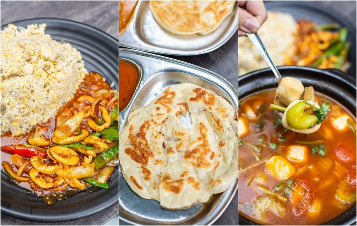 Islamic Seafood Paradise Collage