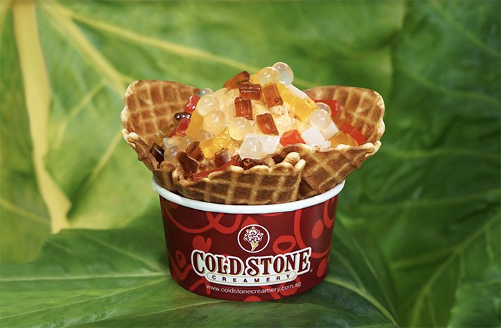 Cold Stone Creamery Thai Milk Tea