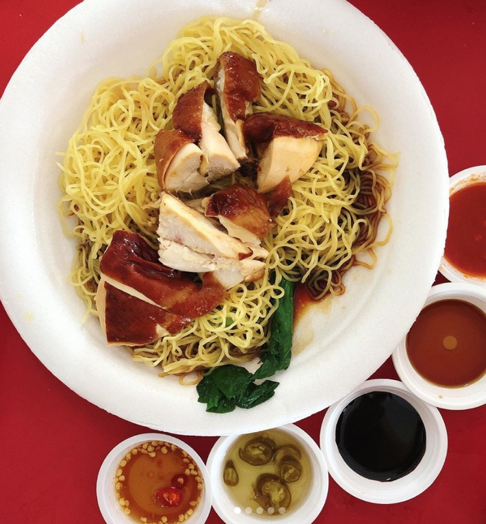 HAWKER CHAN CHICKEN NOODLES