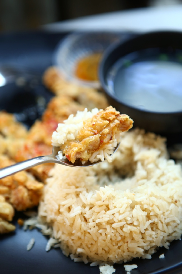 Hainanese Salt Baked Chicken Spicy Chicken Lift