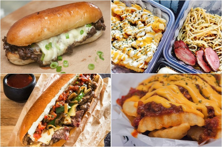 Toko Burgers & Cheesesteaks Collage