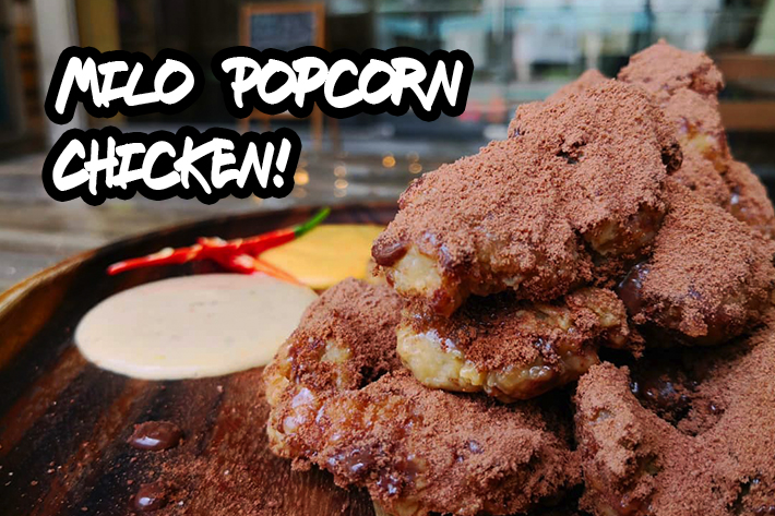 Flavour Fling Milo Popcorn Chicken With Sauces