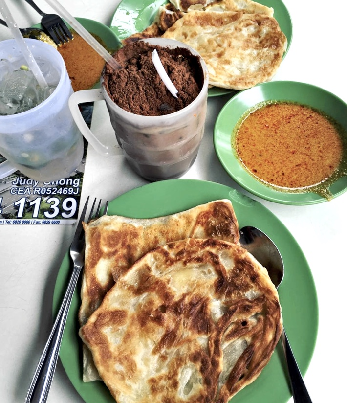 R.K Eating House Prata