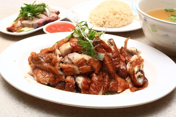 pow sing chicken rice