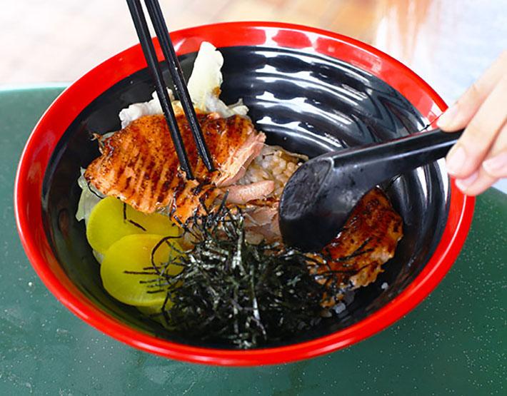Don&Bento Salmon Mentaiko