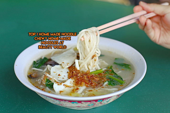 Top 1 Home Made Noodles Feature Image