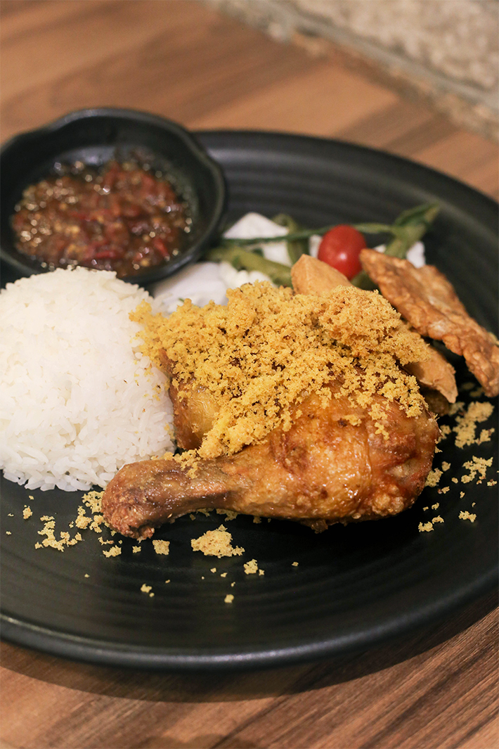 Original Smash Fried Chicken + Rice