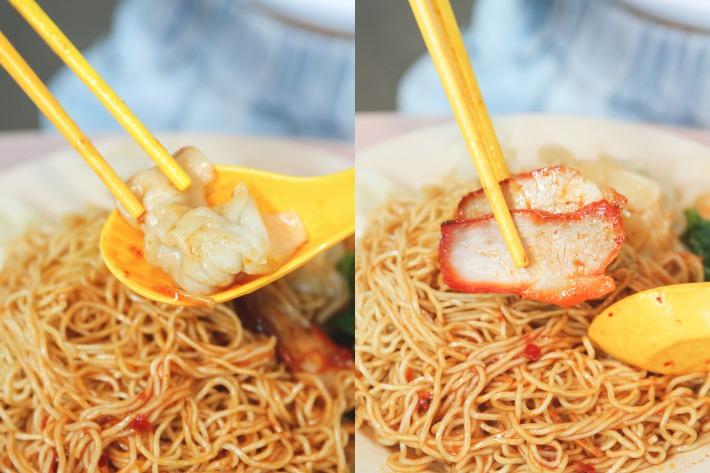 Dover Road Kai Kee Wanton Noodles_Action