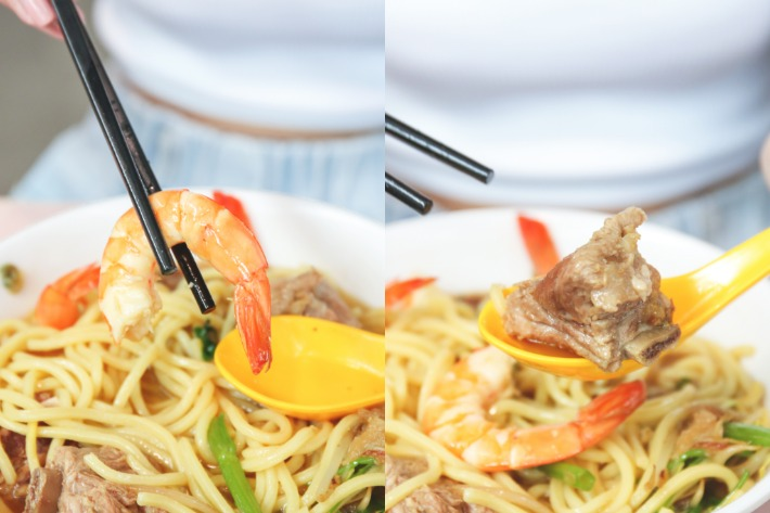Ming's Prawn Noodles_Action_Group