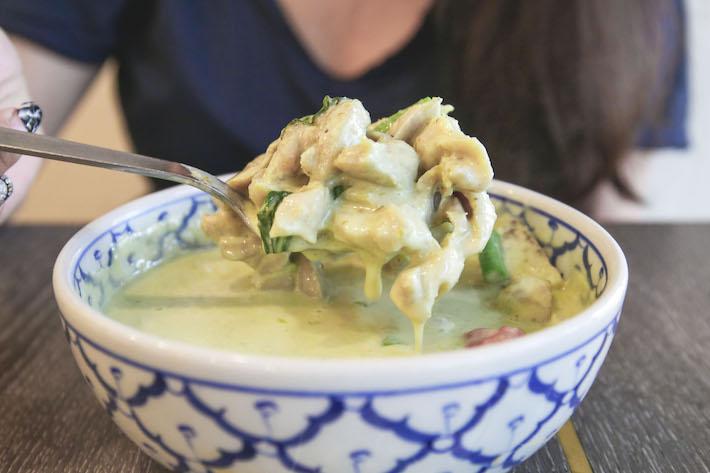 pok pok thai kitchen green curry chicken