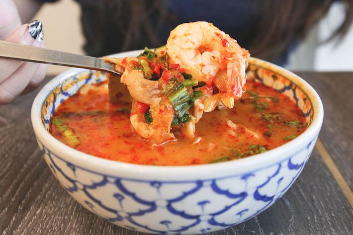 pok pok thai kitchen seafood tom yum creamy soup