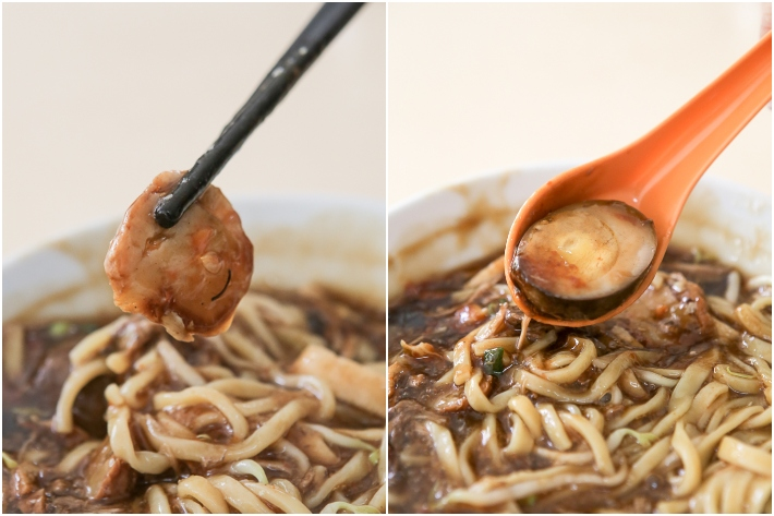 LORONG AH SOO LOR MEE INGREDIENT LIFT COLLAGE