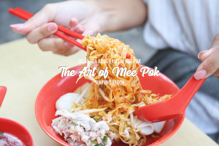 Jalan Tua Kong Lau Lim Mee Pok – The Art of Mee Pok_Cover