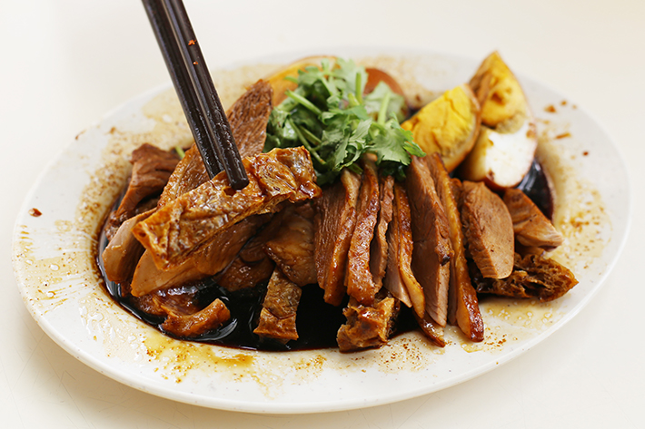 Ah Seng Braised Duck Close Up Tau Pok