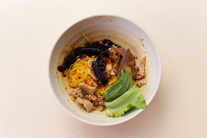 Seng Kee Mushroom Minced Meat Noodle Dry